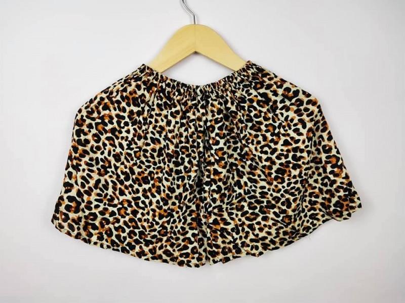 Celana Pendek Murah Wanita Motif Leopard