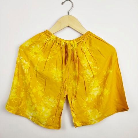 Celana Pendek Kain Murah Motif Tie Dye