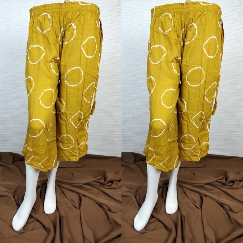 Celana Wanita Bahan Rayon Model Lancip