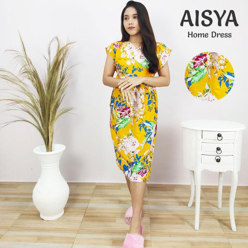 Daster Bali Lengan Pendek Model Aisya