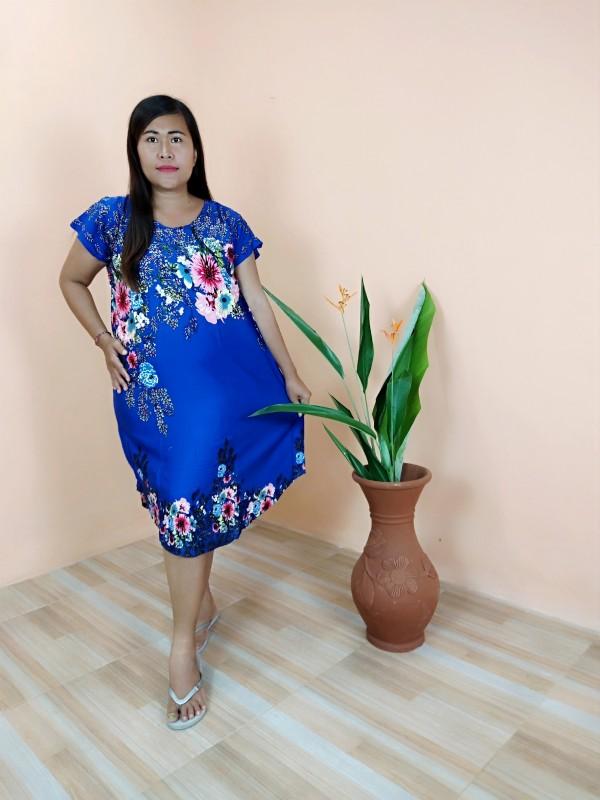 Daster Bali Model Payung Motif Bunga