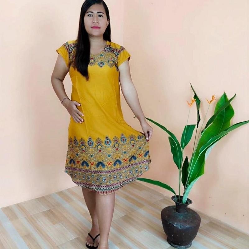 Daster Bali Model Payung Motif Cracap