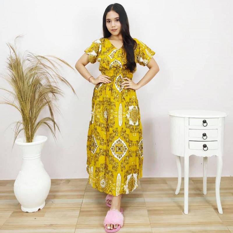 Daster Panjang Semata Kaki Model Kayla
