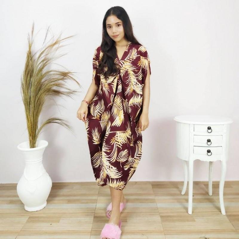 Daster Wanita Panjang Model Aina
