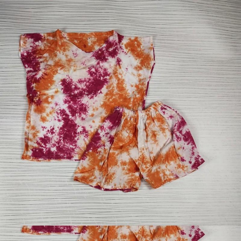 Setelan Tie Dye Anak Perempuan
