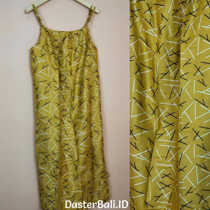 Bali Yellow House Dress