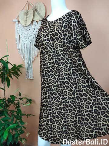 Daster Payung Bali Motif Leopard