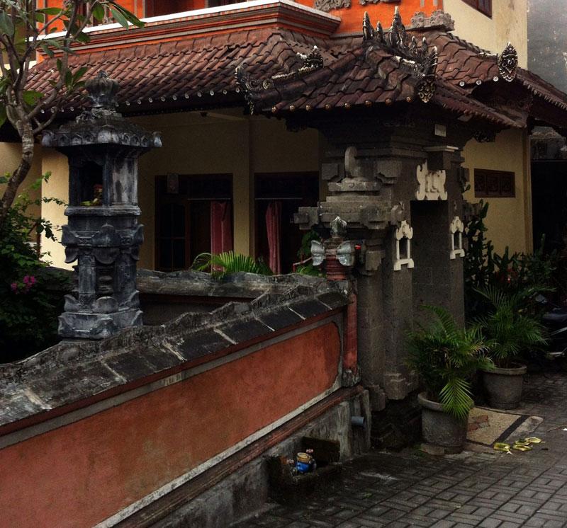 Desain Pagar Rumah Batu Bata Bali