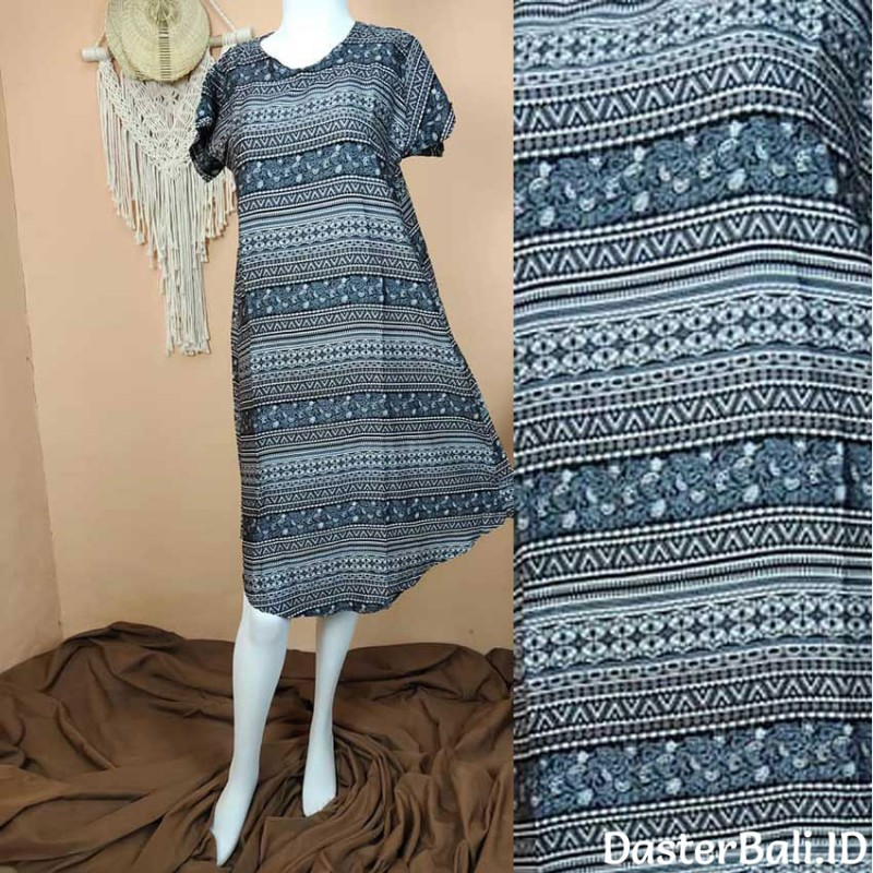 House Dress with Balinese Ethnic